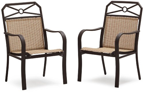 Sling Chaise Lounge Amazon: Awesome Strathwood Rawley Sling Chair, Set Of 2, Striped