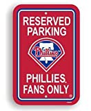 Philadelphia Phillies PLASTIC PARKING SIGNS SET OF 2 show