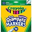 Crayola Expressions Washable Mini-Stampers 10 Count - 2 Packs