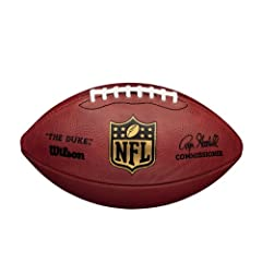 Wilson F1100 Official NFL Game Football by Wilson