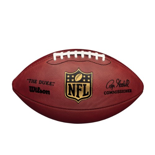 Wilson NFL Duke Game Ball American FootBall - Tan