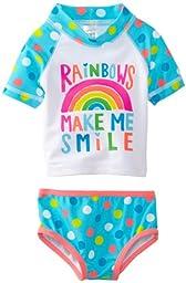 Carter\'s Baby-Girls Newborn RG Set, Turquoise, 6-9 Months