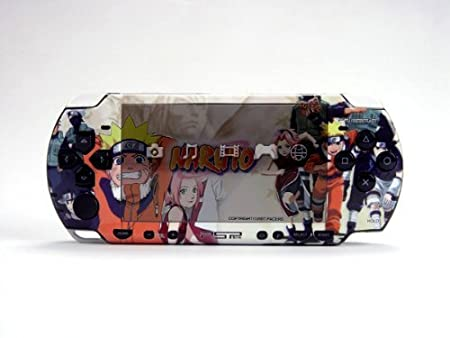 NARUTO PSP (Slim) Dual Colored Skin Sticker, PSP 2000