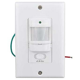 sensky bs033c motion sensor light switch occupancy sensor switch. Black Bedroom Furniture Sets. Home Design Ideas