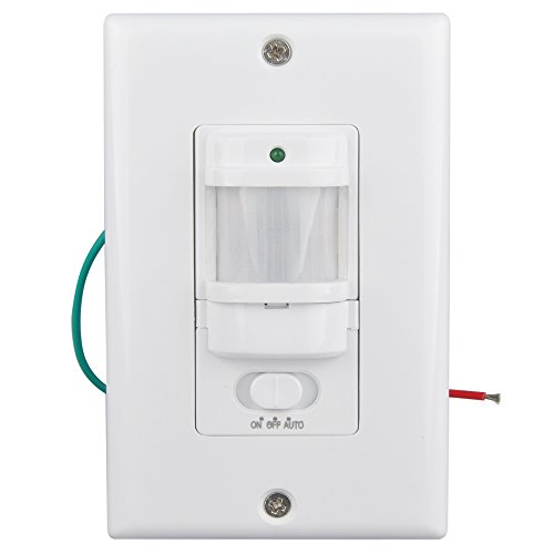 Sensky® BS033C Motion Sensor Light Switch, Occupancy Sensor Switch for corridor and staircase,