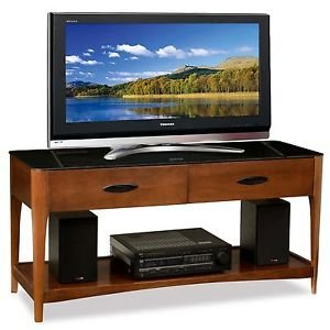 Leick Furniture High Quality Obsidian Top TV Stand