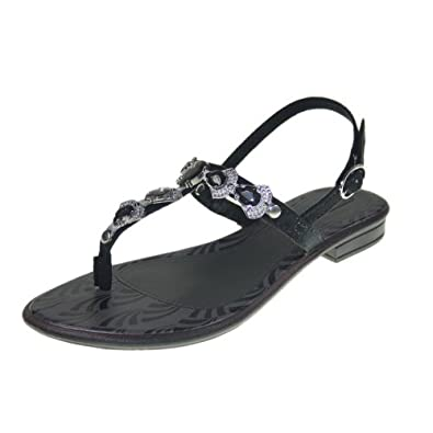 GRENDHA - Chaussures Femmes - JOIA IMPERIAL SD FEM - 81268 - brown black silver, Größe:38