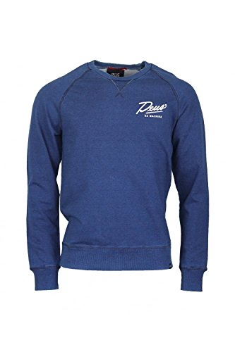 Deus Ex Machina -  Felpa  - Uomo Blue X-Large