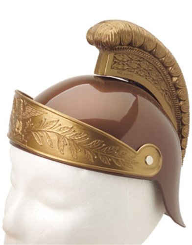 New Deluxe Child Roman Gladiator Costume Trojan Helmet