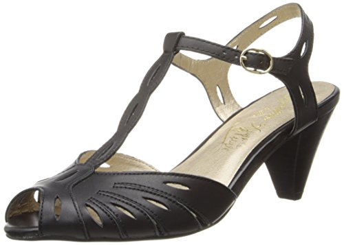 Seychelles Women'S Trip The Light Fantastic Dress Pump,Black Leather,7 M Us