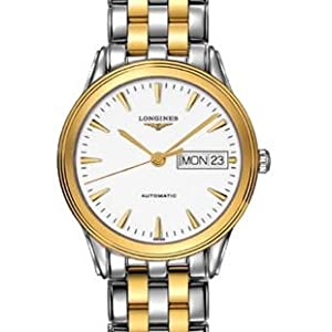 Longines Flagship Les Grandes Classique in Steel and 18K Gold and Gold Markers Men's Watch