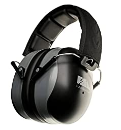 FSL Decimate Earmuffs 34dB NRR Protection - Professional Ear Defenders for Shooting - 3 Year Warranty