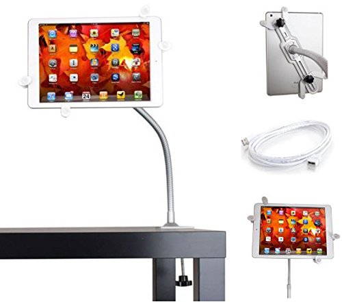 Universal Tablet Desktop / Bed Clamp Mount Holder Adjustable