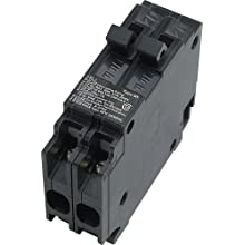 Siemens Q3030 Two 30-Amp Single Pole 120-Volt Circuit Breaker