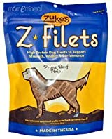 Z-Filets, Dog Treats, Prime Beef Strips, 3.25 oz (92 g) by Zuke's