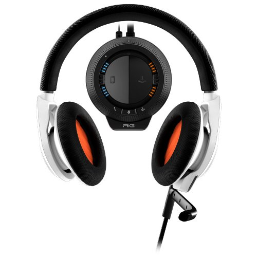 Plantronics Rig Stereo Gaming Headset With Mixer For Xbox 360 And Ps3 - Retail Packaging - White