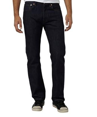Levi's® 501 Original - Droit/Regular - Délavé Stone - Homme - Bleu (Onewash) - FR : W28/L32 (Taille fabricant : W28/L32)