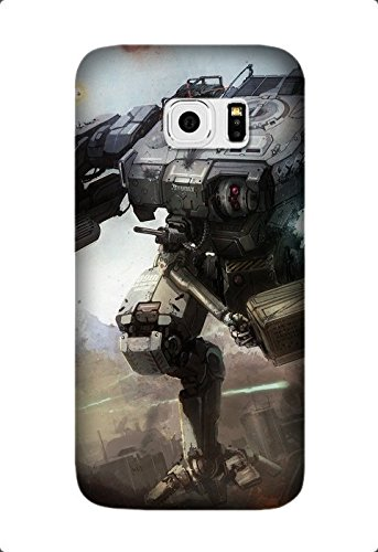 Samsung Galaxy S7 Case, High Quality Game MechWarrior Pattern TPU Skin Flexible Slim Soft Case for Samsung Galaxy S7