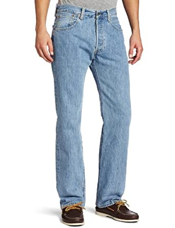 Levi's Men's 501 Original Fit Jean, Light Stonewash, 28X30