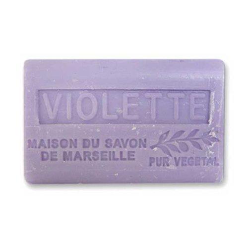(南仏産マルセイユソープ)SAVON de Marseille スミレの香り(SP019)(125g)