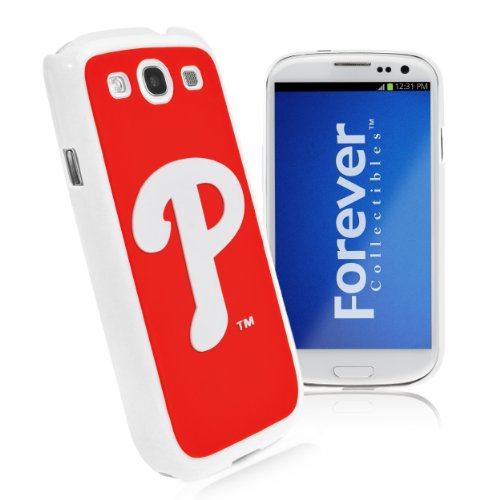 Forever Collectibles Philadelphia Phillies Team Logo Hard Snap-On Samsung Galaxy S3 Case