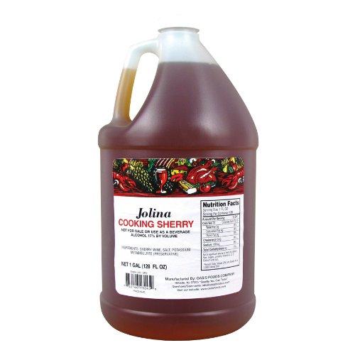 Jolina Cooking Sherry - 1 Gallon 4/CS