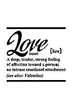 ZZ-Ambiance-sticker Vinilo Decorativo English Quote Definition Love