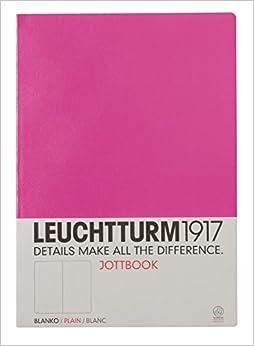 Leuchtturm 1917 Master A4 Jottbook Notebook Softcover Plain / Blank