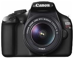 Canon デジタル一眼レフカメラ EOS Kiss X50 レンズキット EF-S18-55mm F3.5-5.6 IS II付属 ブラック KISSX50BK-1855IS2LK