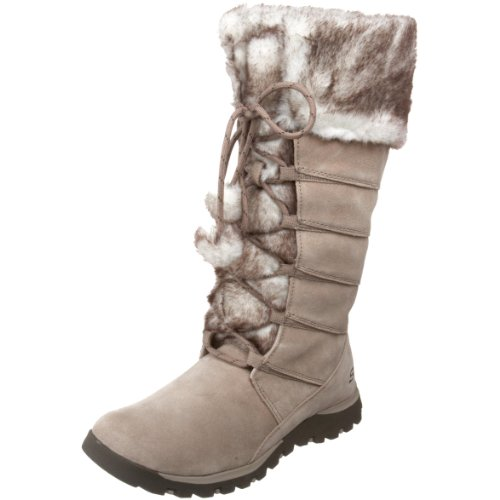 Skechers Womens Grand Jams Unwritten Taupe Boots 47268 4 UK, 37 EU