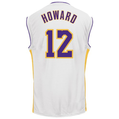 NBA Los Angeles Lakers Replica Jersey, #12 Dwight Howard, White