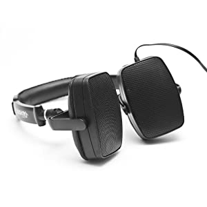 385 Audio DuoPlay Over-Ear Stereo Headphones and Portable Speakers (Black) (Discontinued by Manufacturer)