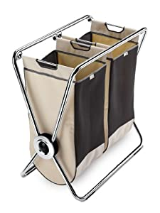 simplehuman X-Frame Laundry Hamper, Double at Sears.com