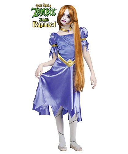 Once Upon a Zombie Rapunzel Girls/ Teen Costume