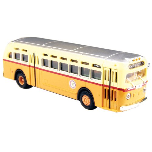 Classic Metal Works HO Scale GMC TD 3610 Transit Bus - Boston MTA