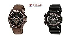 Fabiano New York Combo FNY2003 Analog-Digital Watch - For Boys, Men, Girls, Couple
