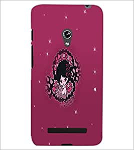 PrintDhaba Zodiac Cancer D-5612 Back Case Cover for ASUS ZENFONE 5 A501CG (Multi-Coloured)