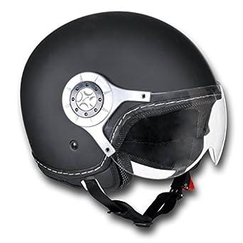 Casque moto noir Taille S