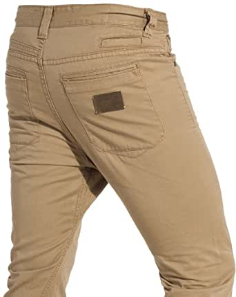 Sixth June - Pantalon sarouel homme tobacco swag - Couleur : Beige Taille : Fr 46 US 36