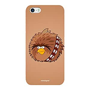 Homesogood Star Wars Angry Bird Multicolor Case For iPhone 5 / 5S (Back Cover)