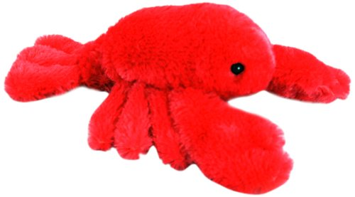 "Purr-Fection Coral Junior Lobster 8"" Plush - 1"