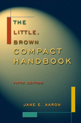 The Little, Brown Compact Handbook (with MyCompLab) (5th Edition)