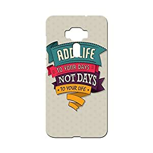 BLUEDIO Designer Printed Back case cover for Asus Zenfone 3 - G3529