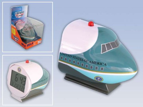 Daron Worldwide Trading DC067 Air Force One Cockpit Clock