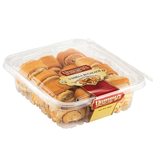 Yummy's Cookies Fresh Baked Homestyle Rugelach - 16 oz. Crescent Filled Pastries - (Vanilla) (Valentine Cookie Dough compare prices)