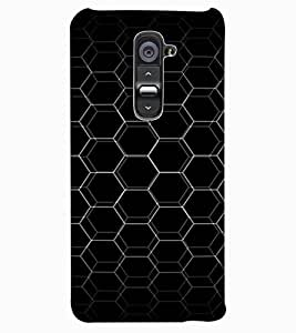 ColourCraft Chamber Design Back Case Cover for LG G2