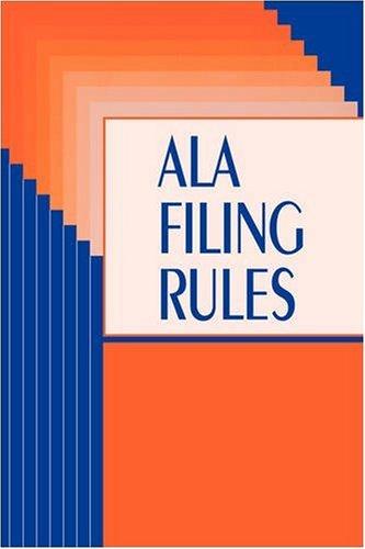 ALA Filing Rules