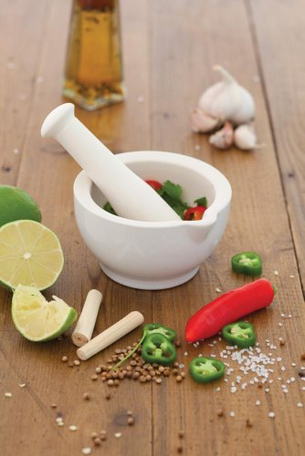 Kitchen Craft 11.8 cm Kitchen Craft Home Made Ceramic Mortar and Pestle