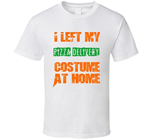 Left  (Pizza Delivery Man Costume)