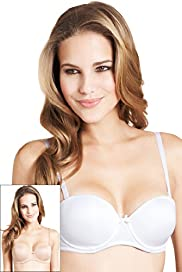 2 Pack Plain Multiway Padded A-D Bras